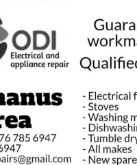 ODI ELECTRICAL & APPLIANCE REPAIRS