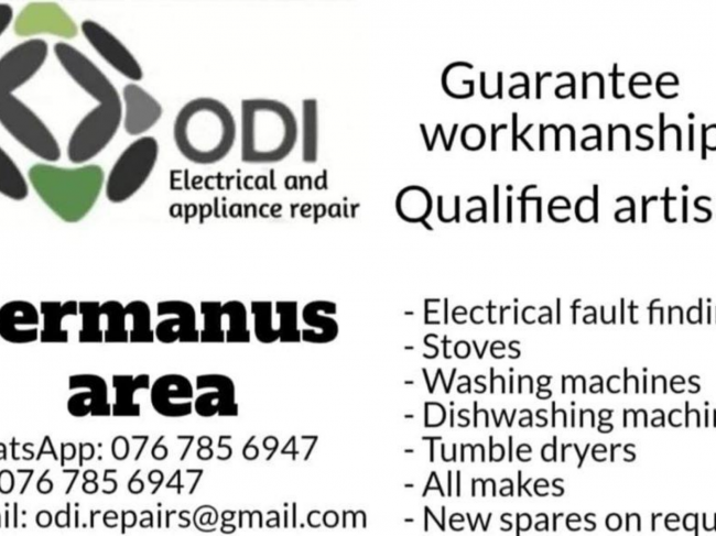ODI ELECTRICAL & APPLIANCE REPAIRS