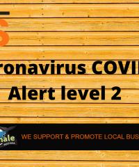 Coronavirus COVID-19 Alert Level 2 – 17 August 2020