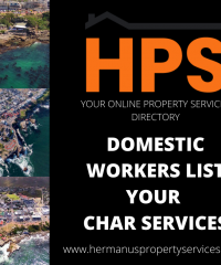 DOMESTIC WORKERS LIST YOUR CLEANING SERVICES